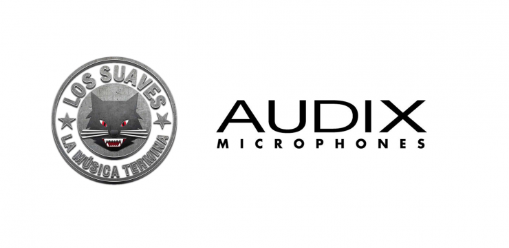 "Micrófonos Audix en la gira ""La Música Termina"" de Los Suaves"