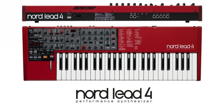 Nord Lead 4 Keyboard