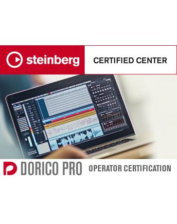 Dorico on-line Pro Operator